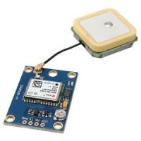 Serial TTL Arduino Microcontroller GPS module