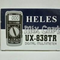 Digital Multimeter / Multitester / Avometer Heles UX-838TR