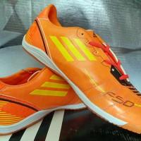Jual Sepatu Futsal Adidas F50 Adizero Orange KW Super Murah