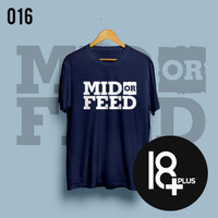 Baju Kaos Dota 2 (Mid or feed)