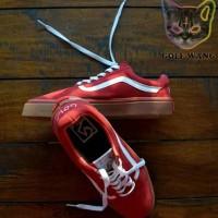 Sepatu Vans Golf Wang Red Waffle IFC