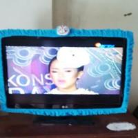 Cover TV / Sarung TV / Bando TV / List TV LCD Doraemon Hello Kitty