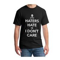 T Shirt pria/kaos pria (hater hate me i dont care )t shirt fashion