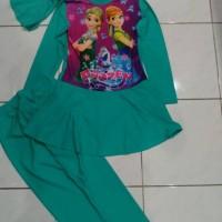 baju renang anak muslim frozen (TK)