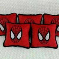 Bantal Jok Mobil / bantal Sofa SPIDERMAN