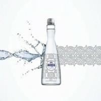 AQUA Reflection Botol Kaca 380 ml