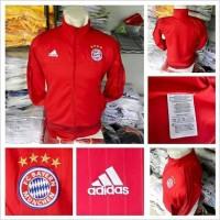 Jaket Bayern Munchen Red 2015/2016 GO Thailand