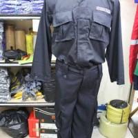 setelan baju seragam pdl security/satpam + bet