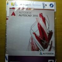 CD Software Autodesk Autocad 2016
