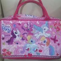 tas travel / tas renang / koper anak little pony
