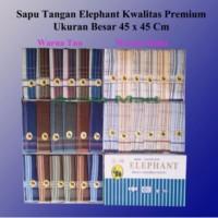 Sapu tangan Pria Elephant / Elephant Mens Handkerchief