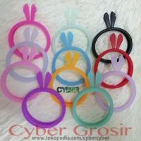 Bumper Case Bunny Mickey Rubber / Ring Case Glow in the dark