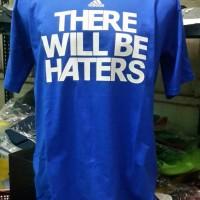 tshirt /t shirt /kaos adidas haters (blue )