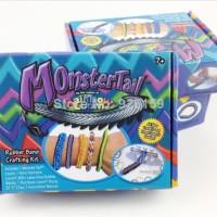 DIY Rainbow Loom Band Loomband Colorful Gelang Karet Box Monster Tail