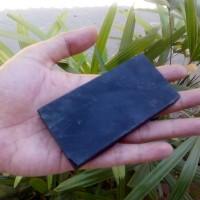 Lempengan Bahan / Rough Giok Black Jade Aceh Super Grade A