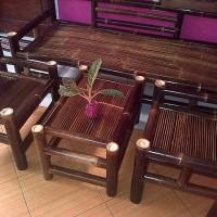kursi bambu set