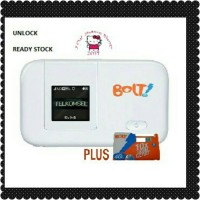 MODEM WIFI 4G BOLT - HUAWEI E5372 SLIM - PLUS KARTU PERDANA BOLT 8GB