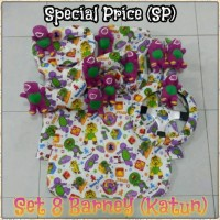 SPECIAL PRICE Bantal Mobil 8 in 1 BARNEY Catoon