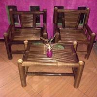 kursi bambu teras
