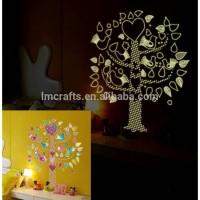wall sticker 60x90 GLOW IN THE DARK- ABQ9617-CUTE TREE KIDS