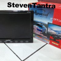 LCD TV Portable 9inch Hollywood Audio (TouchButton / TunerTV / Remote)