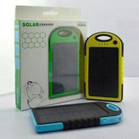 PowerBank Solar Charger 100.000mAh   Tenaga Surya / Matahari