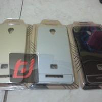 bumper alumunium case with back cover xiaomi redmi note 2
