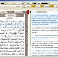 Software Al Quran dengan lebih dari 10 Terjemahan dan Tafsir + Audio++