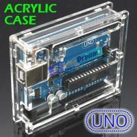 Acrylic Box for Arduino UNO R3 Transparent Casing Kotak Transparan