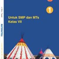 Buku BSE: Matematika Untuk SMP/MTs Kelas 7