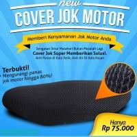 Sarung Jok Motor Merk Cooltech - Cover Jok Anti Panas,Anti Air & Slip