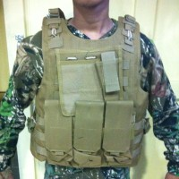 Military combat tactical vest army / rompi army / airsoft