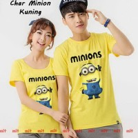 Jual Baju Couple   Fashion Couple Trendy   Char Minion Kuning