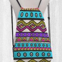 Tas Serut Backpack / Drawstring - Ransel Vintage Tribal 12