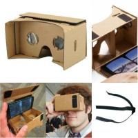 Cardboard Virtual Reality + Tali Pengikat Kepala for Google Cardboard