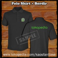 Gratis Bordir Polo Shirt / Poloshirt seragam / sablon