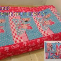 Balmut (Bantal Selimut) ILONA Uk 150x200 Barbie Butterfly