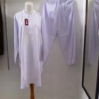baju ihrom wanita jumbo big size besar / perlengkapan haji umroh