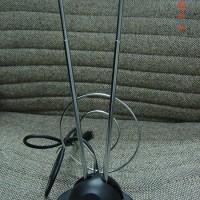 Antena TV Dalam KITANI Model V Meja + Jack INDOOR Antenna ANTEN + Kabe