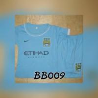 BB009 Baju Bola Manchester City ManCity bagus murah terbaru katun