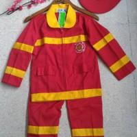 baju pemadam kebakaran 7-10/ baju cita-cita/ baju karnaval anak
