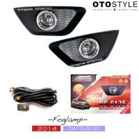 Foglamp Datsun Go 2014 set (fog lamp / lampu kabut / lampu mobil)