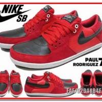 New Best Shoes Sepatu Nike SB Paul Rodriguez Merah C513
