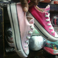 Converse ori indonesia pink & baby pink
