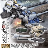 Bandai 1/144 HG-IBO MS Option Set 1 & CGS Mobile Worker