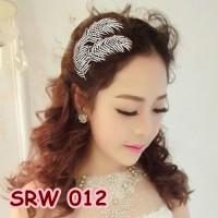 Sirkam Sanggul Daun Wedding l Aksesoris Rambut Pesta Pengantin-SRW 012
