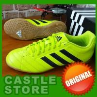 [ORIGINAL] Adidas Goletto V IN Yellow Volt (Sepatu Futsal)