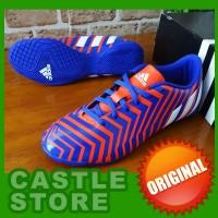 [ORIGINAL] Adidas Predator Instinct IN Blue/Orange (Sepatu Futsal)