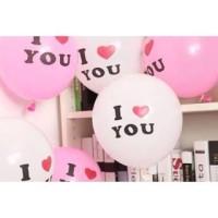 Balon Latex I Love U