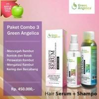 Paket mencegah kebotakan rambut / shampo dan anti dht
